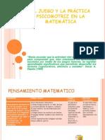 -- EL JUEGO Y  PRÁCTICA PSICOMOTRIZ EN LA