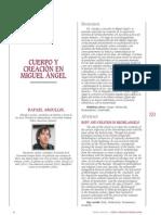 Cuerpo y Creacion en Miguel Angel