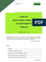 Plano Articulação Curricular 2012