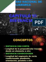 DISTANCIAS UNC2011