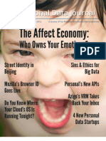 Personal Data Journal - Issue 6 (2012) - Personal Data Ecosystem Consortium