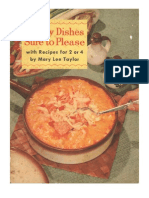 Thrifty Dishes Sure to Please