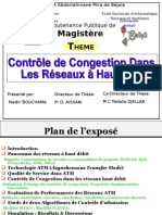 Congestion Control in High Speed Networks (in French)