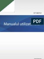 Manual GT-S6312 Rom