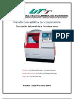Panel de Control Fresadora EMCO