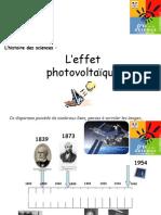 Effet PhotoVoltaiQue - energie solaire