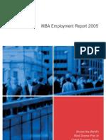 2005 Employment Report