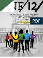 Informe Anual sobre Derechos Humanos de Personas Trans, Lesbianas, Gays y Bisexuales (TLGB) en el Perú 2012