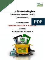 Guia Metodologica Modalidades y Taller 1
