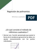 Regresión de polinomios