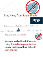 Stay Away From Loan Sharks