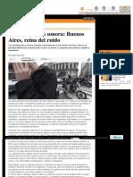 Contaminación sonora_ Buenos Aires, reina del ruido _ Diario Z