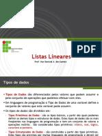4. Listas Lineares