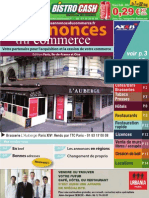 Les Annonces Du Commerce IDF N 15 Mai 09