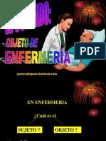 CUIDADO-Objeto de Enfermería