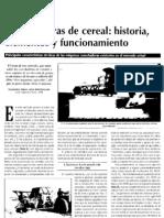 Historia de las máquinas cosechadoras de cereales