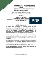 Tema i Legislacion Monetaria y Financiera (Uapa)