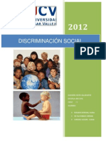 Discriminacion Social