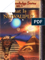 What is Nuwaupu Scroll #1