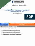 DOLABJIAN, Diego A. - Constitución y derechos humanos. Un análisis sobre el 75,22