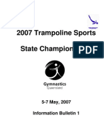 2007 Trampoline Sports State Championships Bulletin 1