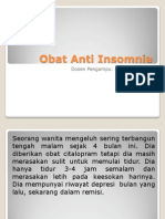 Obat Anti Insomnia