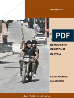 Empowering the Democratic Resistance in Syria
