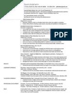 Patrick deHahn's Resume Summer 2013