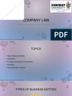 2. Company Law Introduction