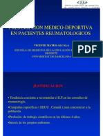 Ejercicios en Reumatologia