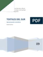 Textiles Del Sur - Aprox Semiot- Stella Porfirio