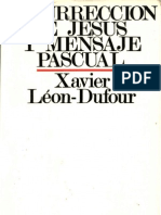 [Sir Beregond]Leon Dufour Xavier - Resurreccion de Jesus y Mensaje Pascual