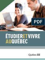 Brochure Etudier Quebec