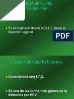 UDH Cáncer de Cuello 2010 Power point 2003