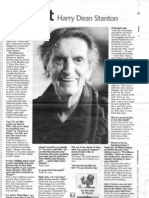 """Newsday """"Fast Chat"""" - Harry Dean Stanton"""