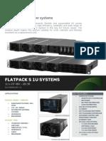 Datasheet Flatpack S 1U Systems