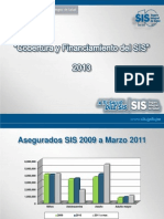 Cobertura Financiamiento IRAS-SIS