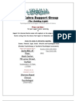 Support Group Poster