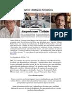 Fiasco do 7 de Setembro desmoraliza Merval, a Globo, a chantagem do PiG e o coxinhas golpistas