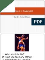 Culture in Malaysia