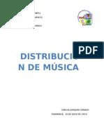 4 formas de distribución de la Música