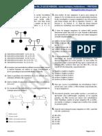 GENEALOGIA, Sistema ABO, Fator Rh, 2ª LEI DE MENDEL - Alelos Múltiplos, Poliibridismo (PRATICAR)