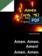 Amen WYD 95