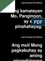 Ang Kamatayan Mo (Robleza)