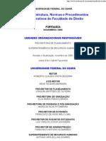 UFC - FD - Manual de Estrutura, Normas e Procedimentos Administrativos Da Faculdade de Direito