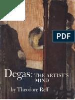 Degas the Artists Mind