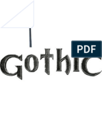 gothic tshirt geändert