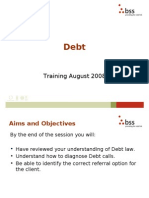 Debt Training