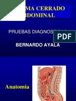 Norma - Trauma Cerrado Abdominal - Dr Ayala