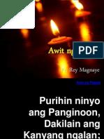 Awit Ng Papuri